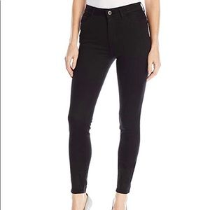 DL1961 high rise black jeans